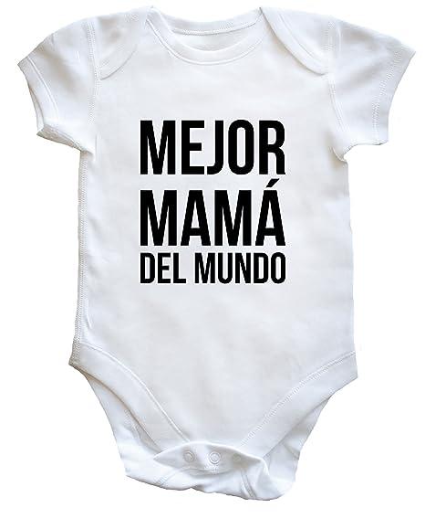 HippoWarehouse Mejor Mamá del mundo. body bodys pijama niños niñas unisex