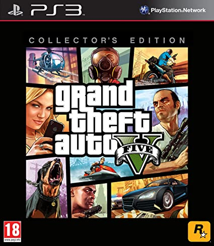 Grand Theft Auto V Collector S Edition Ps3 Amazon Co Uk