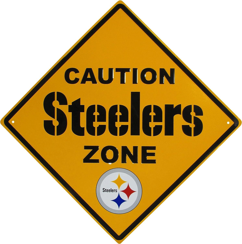 Siskiyou Sports NFL Unisex Caution Wall Sign Plaque