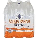 Acqua Panna, Acqua Minerale Naturale 1.5L (Confezione da 6)