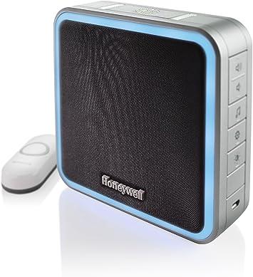 Honeywell RDWL917AX Series 9 Portable Wireless Doorbell Door Chime /& Push Button