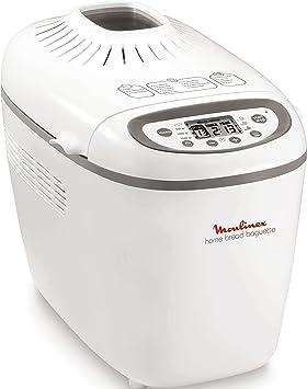 Moulinex Home Baguette - Panificadora, 1.650 W, 16 programas