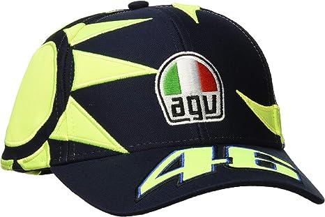 Valentino Rossi Vr46 Classic-Sol e Luna, Helmet cap Hombre, Azul ...