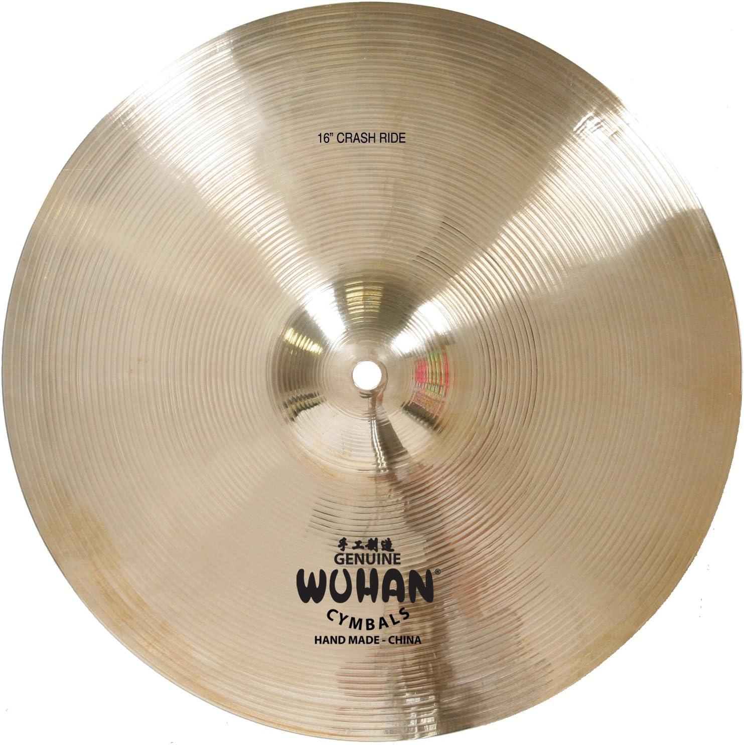 """Wuhan 457 Rock Crash Cymbal 16/"""" Video Demo"""