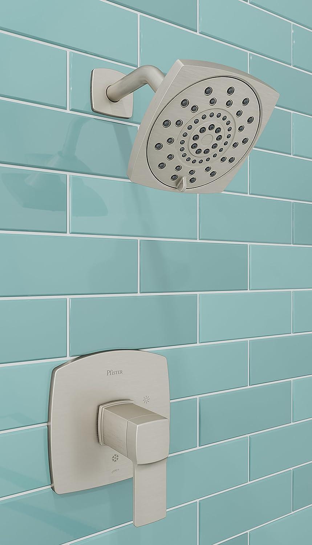 Pfister LG89-8DAK Deckard Tub and Shower Trim, Brushed Nickel ...