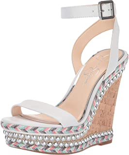 55d044cc44 Amazon.com | Jessica Simpson Women's Caiya Heeled Sandal | Sandals