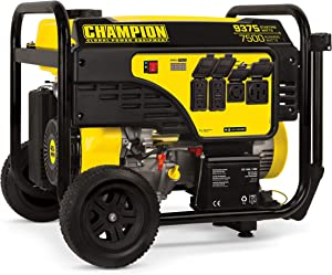 Champion Power Equipment 7500-Watt Portable Generator with Electric Start