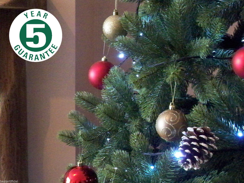 Best Artificial (TM) 7ft Premium Real Feel Hinged Christmas Tree ...