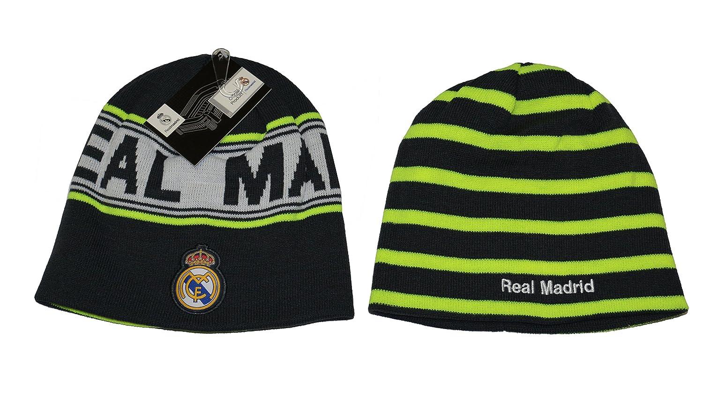 Amazon.com: Real Madrid Beanie cráneo tapa sombrero neón ...