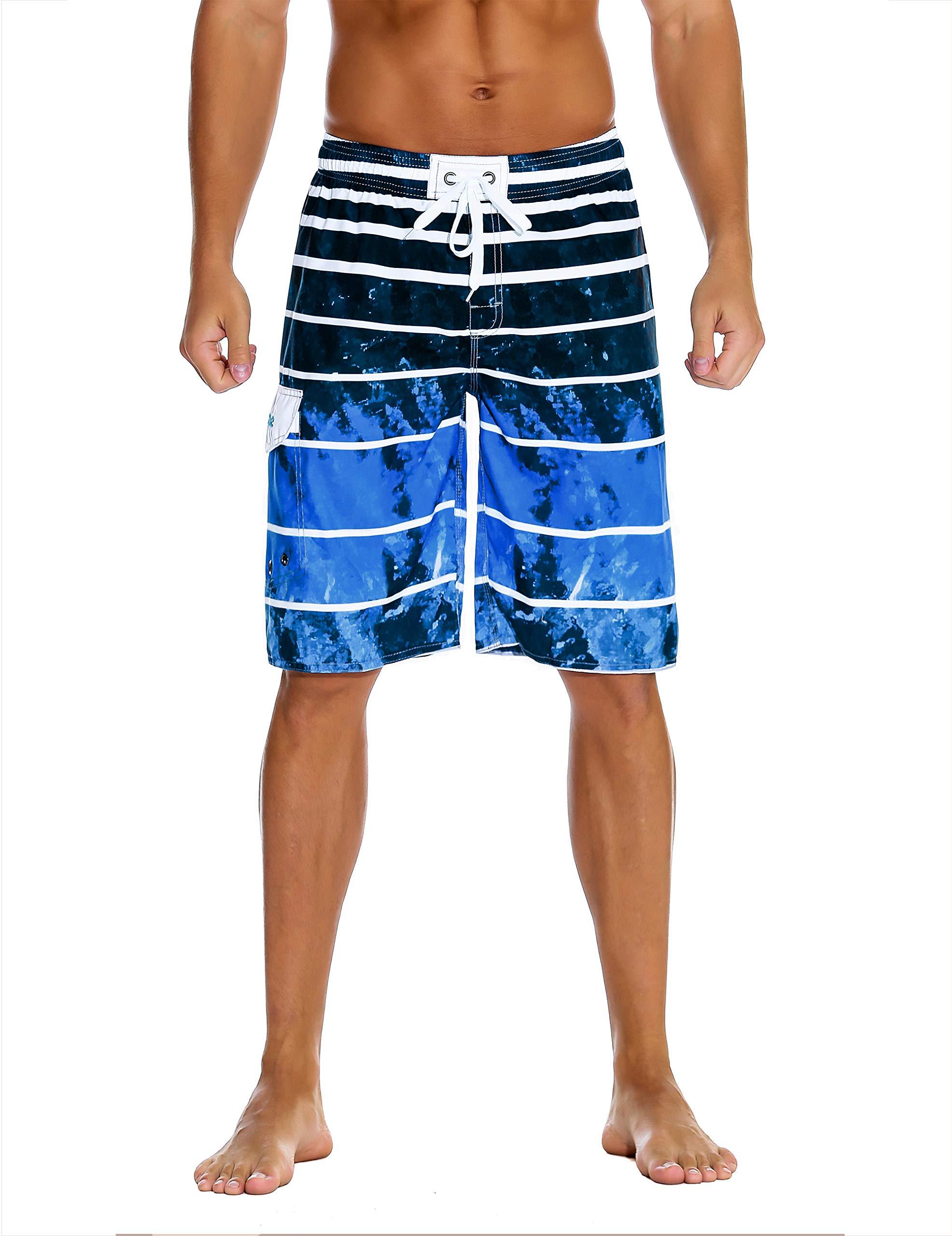 Nonwe Men's Beachwear Quick Dry Holiday Drawstring
