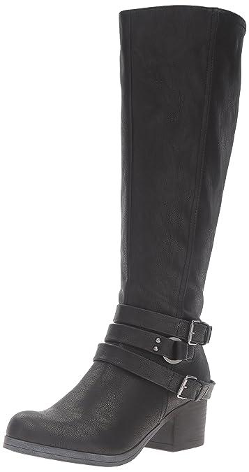 Carlos by Carlos Santana Women's Camdyn Riding Boot, Black, ...