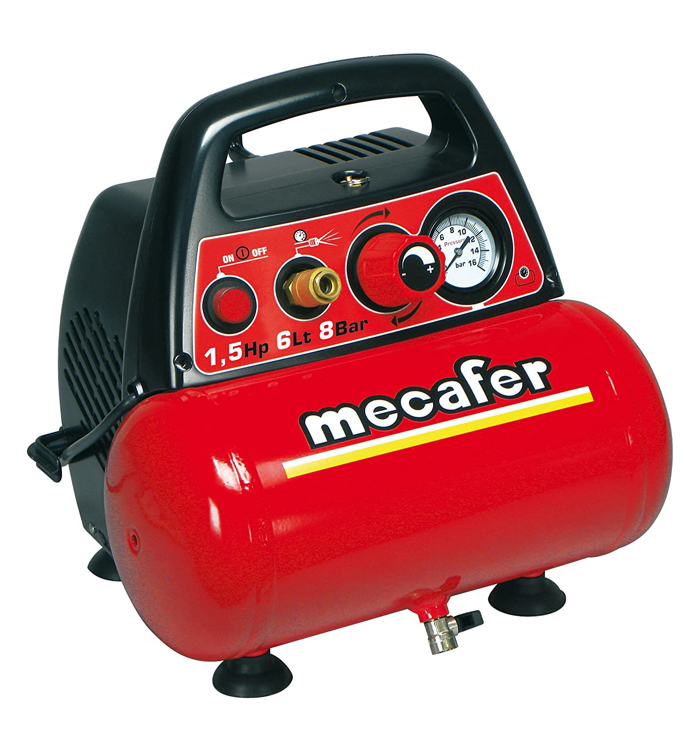 Mecafer 425528  Kompressor 6  L 1, 5  HP New Vento