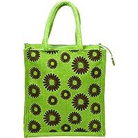 RSN Large Jute Tote Shoulder Bag For Women & Girls