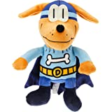 MerryMakers Dog Man Bark Knight Plush Toy, 9-Inch, from Dav Pilkey's Dog Man Book Series
