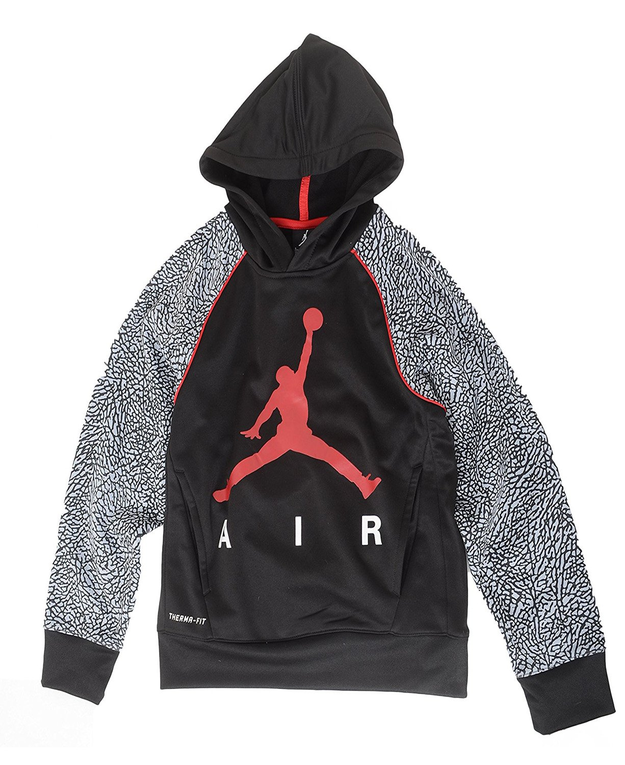 33727f7dfdaa Jordan Nike Jumpman Little Boys  Elephant Print Therma-Fit Pullover ...