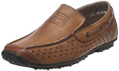 0fc9da5a647e Rieker 08969/25, Chaussures bateau homme: Amazon.fr: Chaussures et Sacs
