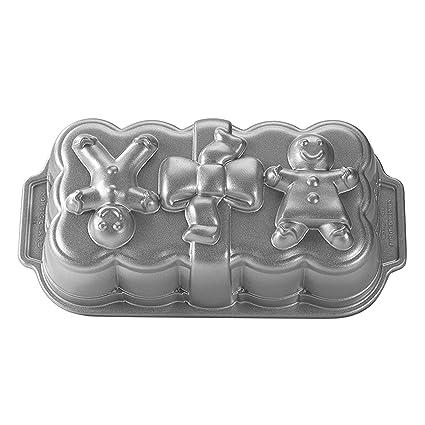 NordicWare 56948 - Molde para tarta con diseño de muñeco de jengibre