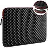 WIWU 17.3 Inch Diamond Laptop Sleeve Case Cover with Super Corner Protection Water Repellent Computer Bag for MacBook…