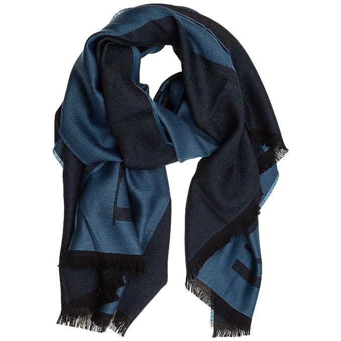negozio ufficiale grandi affari 2017 un'altra possibilità Emporio Armani sciarpa lana uomo pavone: Amazon.it: Abbigliamento