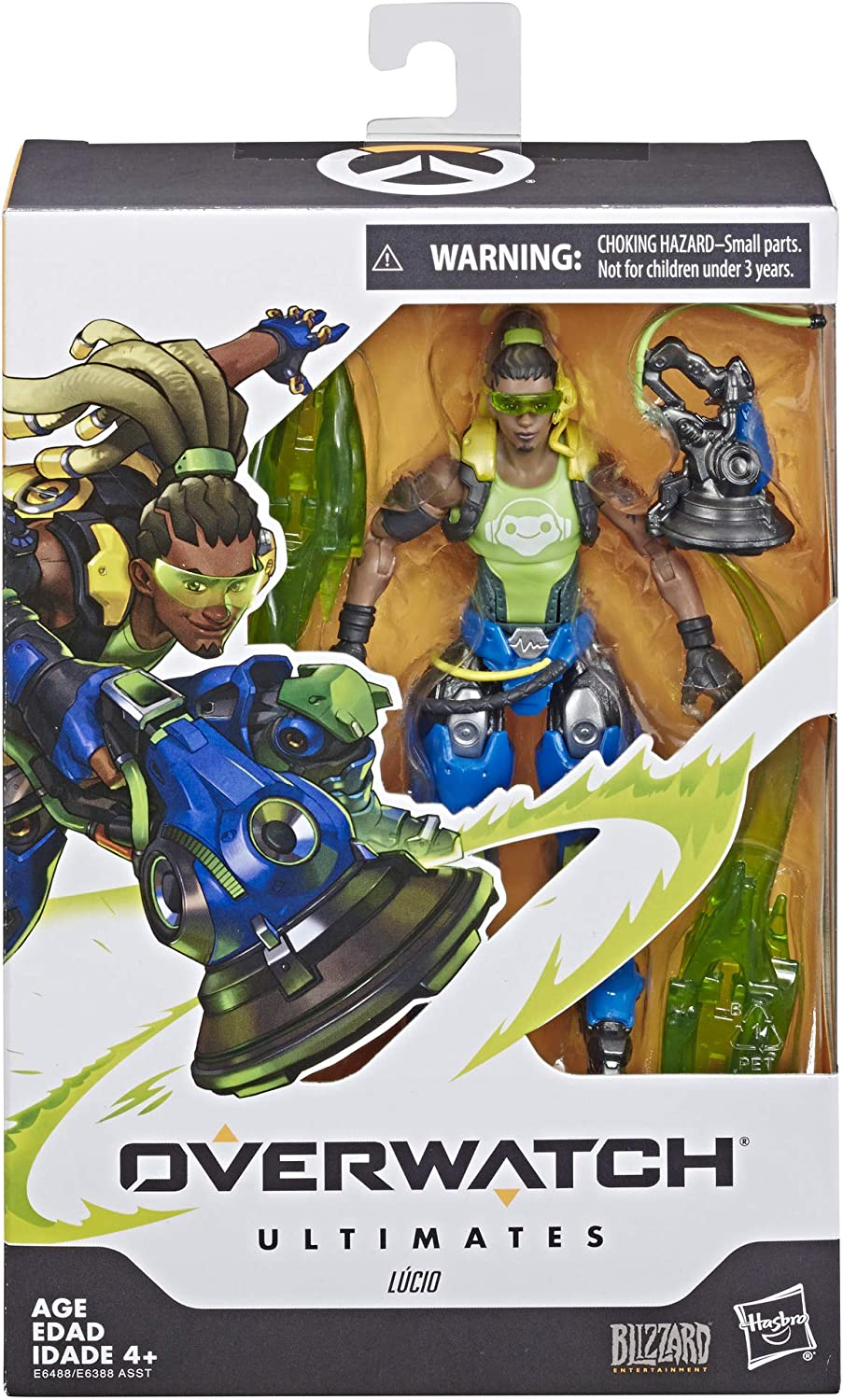 Hasbro Overwatch Ultimates Series Lucio 6