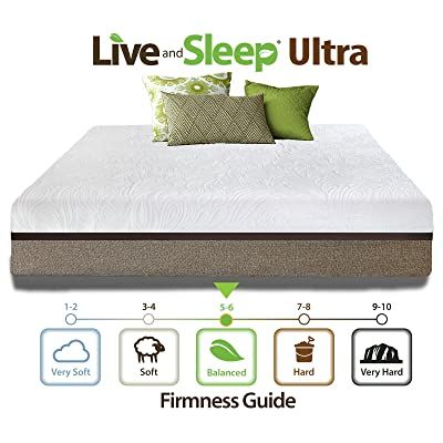 Live and Sleep 12-inch Memory Foam Mattress
