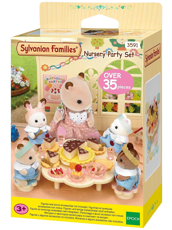 4b7b0231fc2 SYLVANIAN FAMILIES - Set Fiesta guardería (Epoch 3591): Amazon.es: Juguetes  y juegos