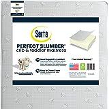 Serta Perfect Slumber Dual Sided Premium Recycled Fiber Core Crib and Toddler Mattress - Waterproof - Hypoallergenic - GREENG