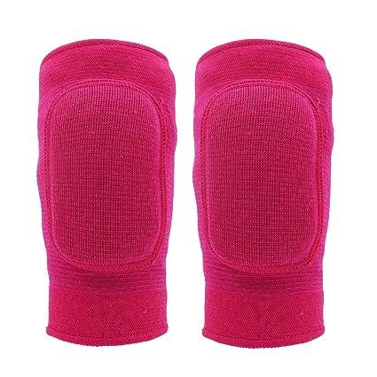 Rodilleras para niños,Con protectores acolchados transpirables a prueba de golpes en la rodilla.