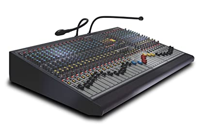 Allen & Heath GL2400/32 32-Channel Dual Function Professional Live Sound  Mixer with 6 Auxiliary Sends, 4 Band Equalizer, and 7 x 4 Matrix
