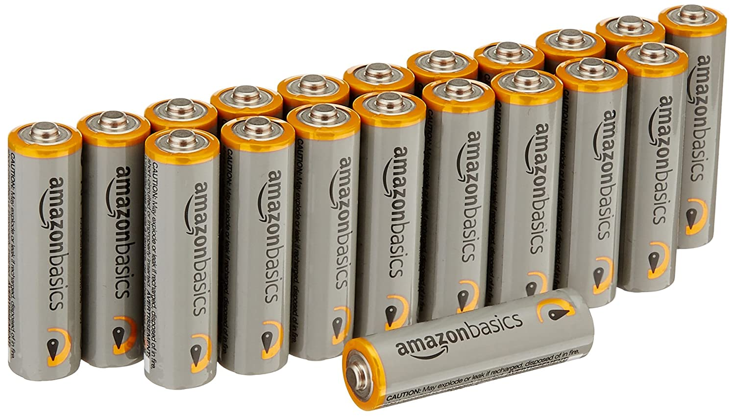 Basics AAA Performance Alkaline Batteries (20-Pack) - Packaging May Vary ALK AAA20FFP-U AMZ