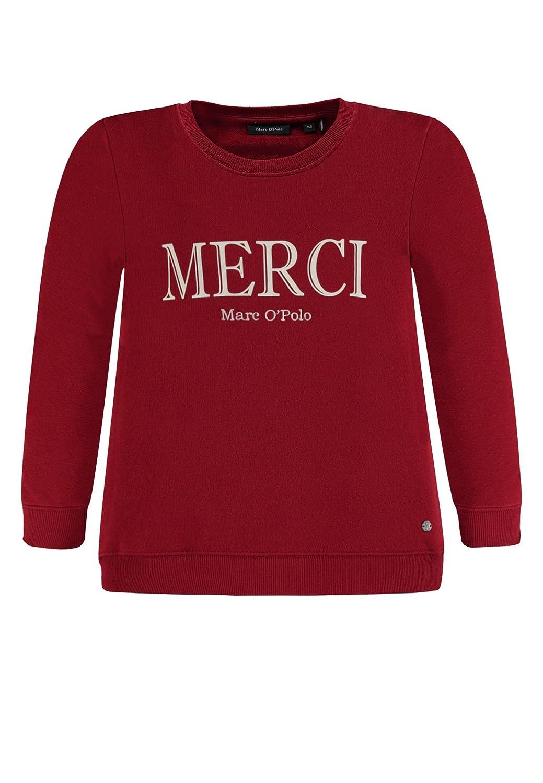 Marc O Polo Kids Sweatshirt 1/1 Arm, Sudadera para Niñas, Rojo ...