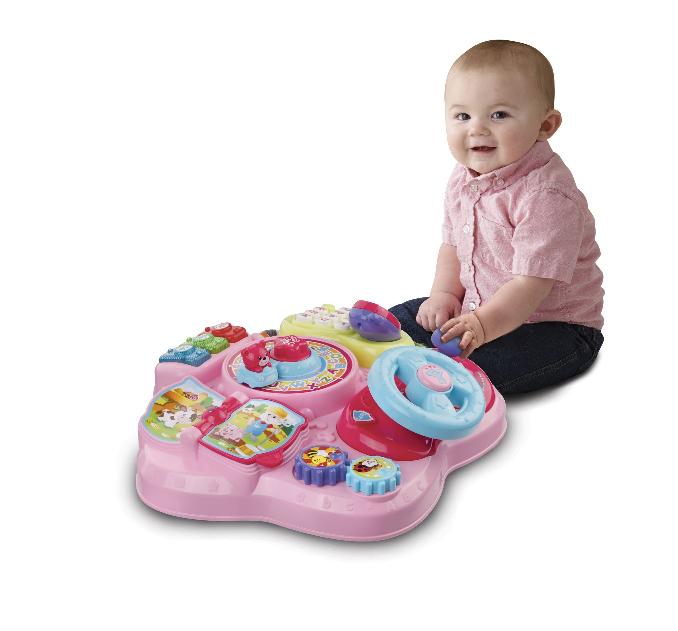 VTech Magic Star Learning Table, Pink (Frustration Free Packaging) by VTech (Image #3)