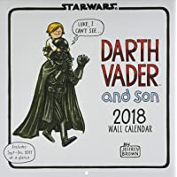 Image for Star Wars Darth Vader and Son 2018 Wall Calendar
