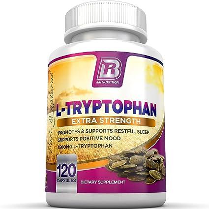 BRI Nutrition l de triptófano – 1500 mg umhüllungen – 120 Graf Von L – triptófano