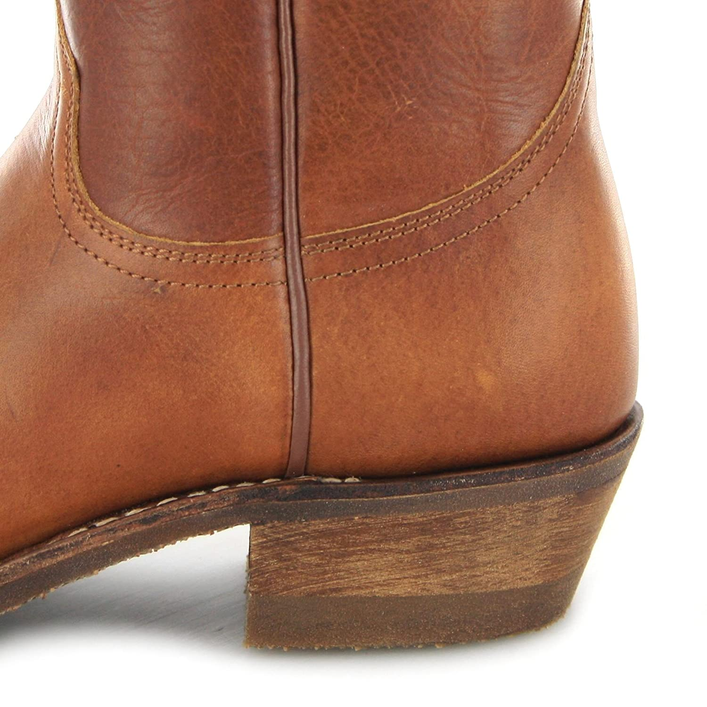 Sendra Sendra Sendra Stiefel Herren Cowboy Stiefel 5588 Tang Lederstiefel Braun 45 EU 35e0d0