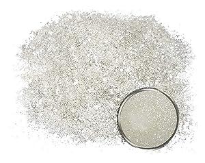 "Mica Powder Pigment/Flake ""Icicle"" (50g) Multipurpose DIY Arts and Crafts Additive | Natural Bath Bombs, Resin, Paint, Epoxy, Soap, Nail Polish, Lip Balm"