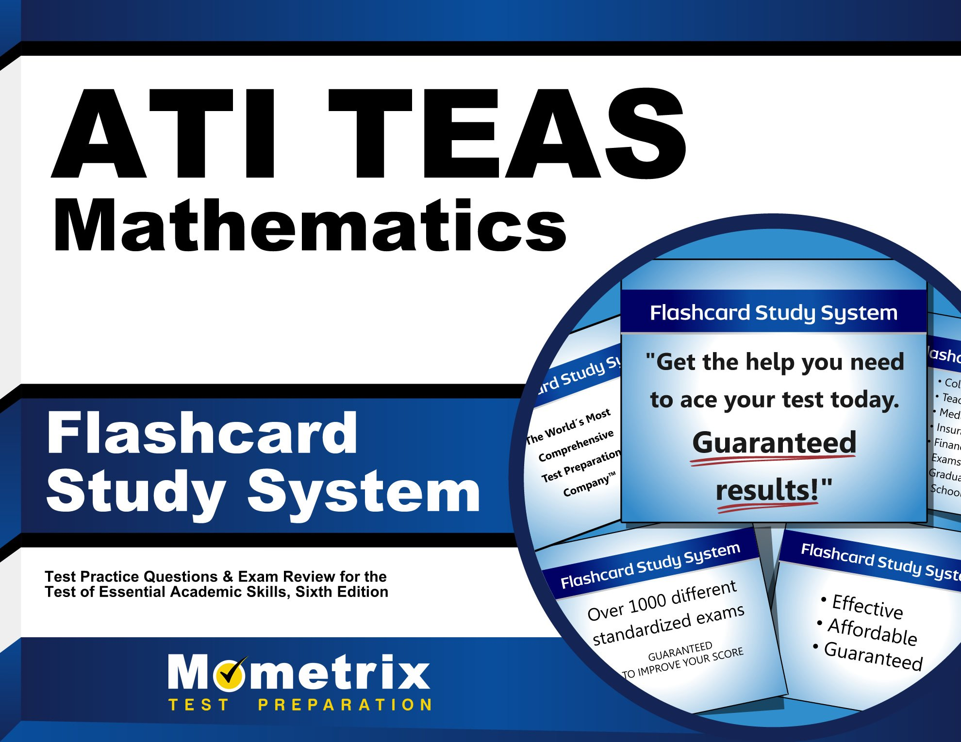 TEAS Mathematics Flashcard Study System
