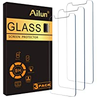 Ailun Glass Screen Protector Compatible for iPhone 11/iPhone XR, 6.1 Inch 3 Pack Tempered Glass 2.5D Edge Anti Scratch…