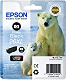 Epson C13T26314010 - 26XL - XL size - photo black - original - ink cartridge - for Expression Premium XP-510, 520, 600, 605, 610, 615, 620, 625, 700, 710, 720, 800, 810, 820