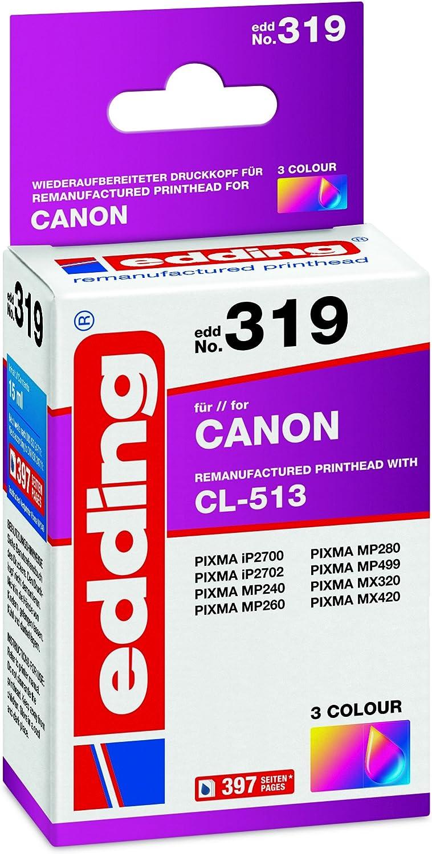 Edding Edd 319 Remanufactured Tintenpatronen Pack Of 1 Bürobedarf Schreibwaren
