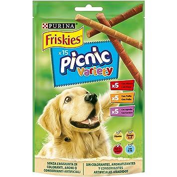 Purina Friskies Picnic Variety golosinas y chuches para perros 8 x 126 g: Amazon.es: Productos para mascotas