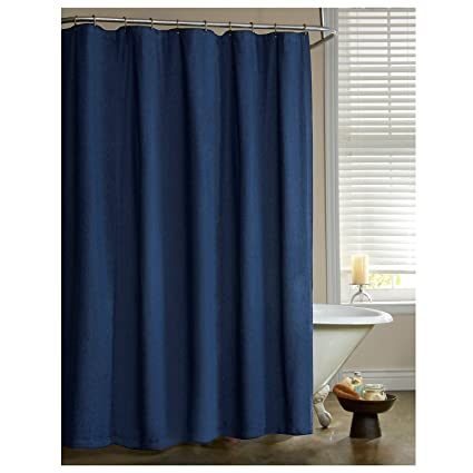 Amazon.com: Denim Shower Curtain: Home & Kitchen