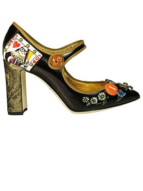 Dolce Pelle NeroAmazon Donna Cd0936am945hnf57 Gabbana Decolleté E SzMVqUp