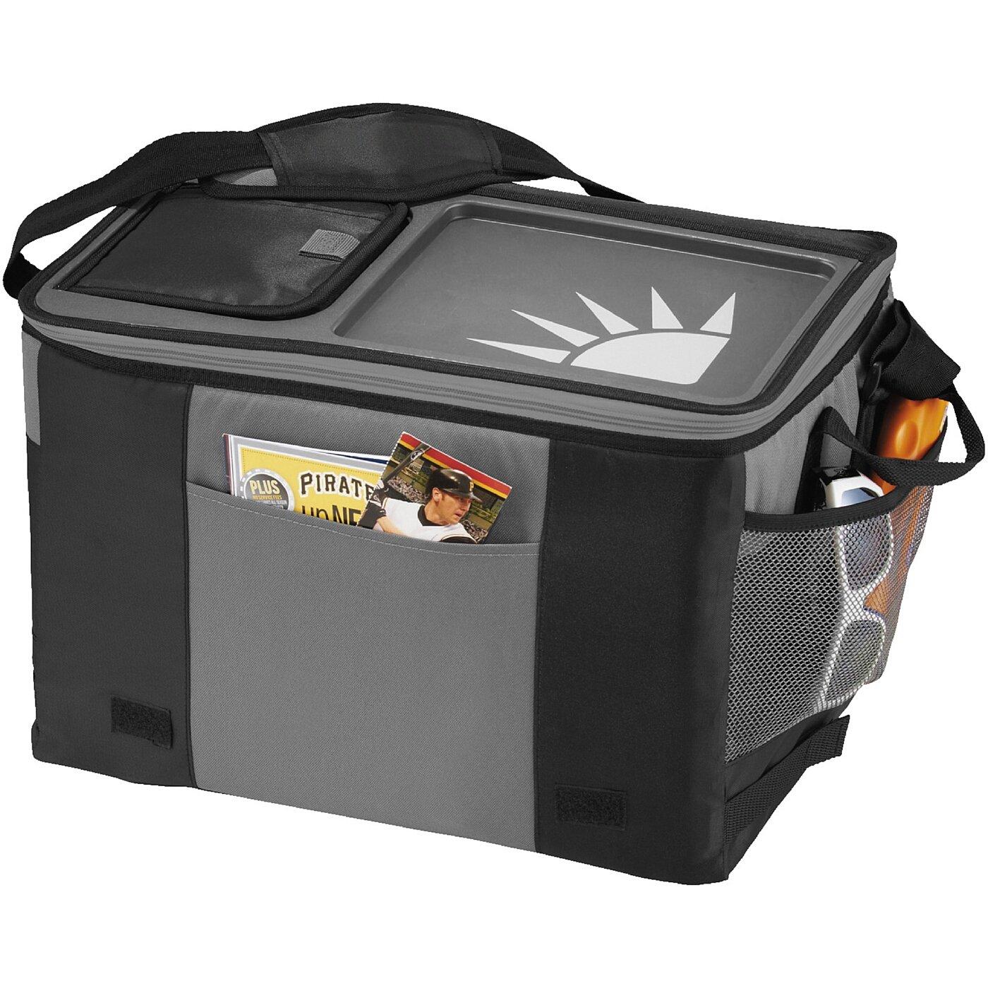CALIFORNIA INNOVATIONS - Tisch-Kühltasche für 50 Dosen - schwarz