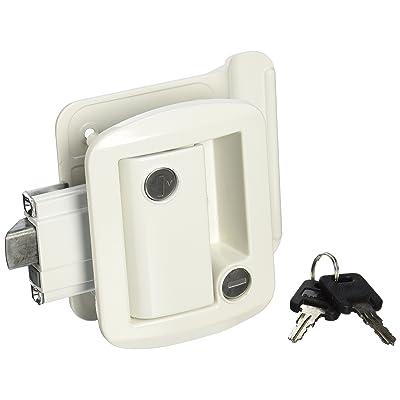 AP Products 013-571 White Global Travel Trailer Entrance Lock Set: Automotive