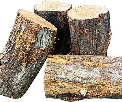 Amazon | [メロウストア] 薪割り原木 姥目樫 ウバメガシ 25kg 広葉樹薪 ...