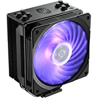 Cooler Master Hyper 212 RGB Black Edition CPU Cooler with Jet Black Nickel Plated Fins for Premium Aesthetic Appeal…