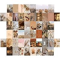Muur collage kit esthetische afbeeldingen, 50 stuks esthetische foto kunst kamer decor, indie kamer decor estheticr voor…
