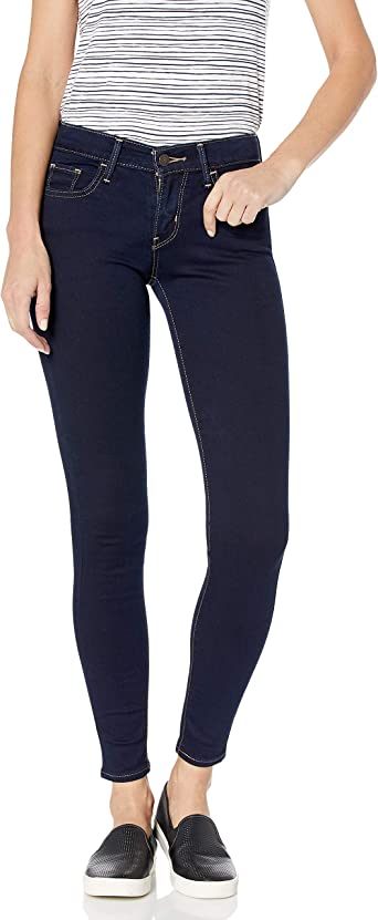 Levi S Women S 710 Super Skinny Fit Jean Amazon Ca Clothing Shoes Accessories