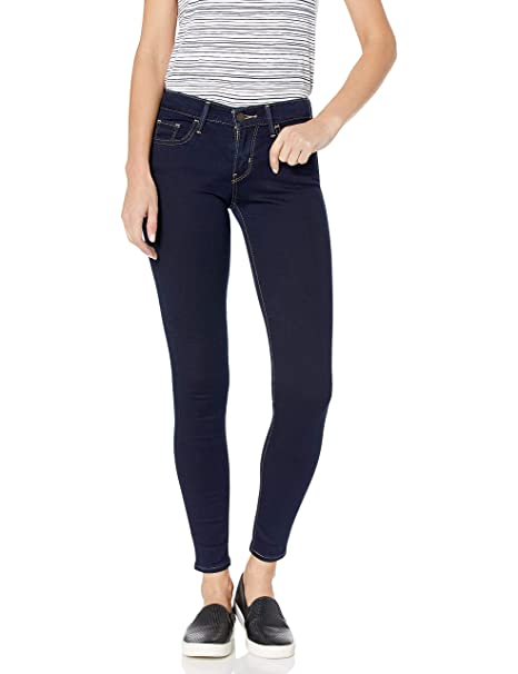 Levi's Women's 710 Super Skinny Jean, Dusk Rinse, 33 (US 16